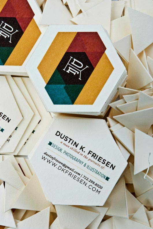 35 Creative and Uniquely Shaped Business Cards - Jayce-o-Yesta