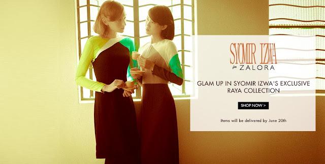 design baju raya 2014 syomir izwa for zalora brand new
