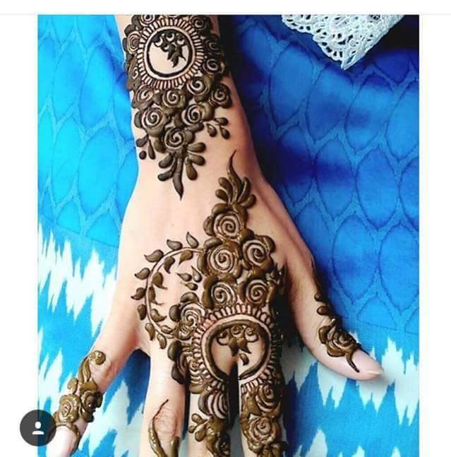 Mehndi Designs New Models : Stylish latest henna designs l arabic mehndi