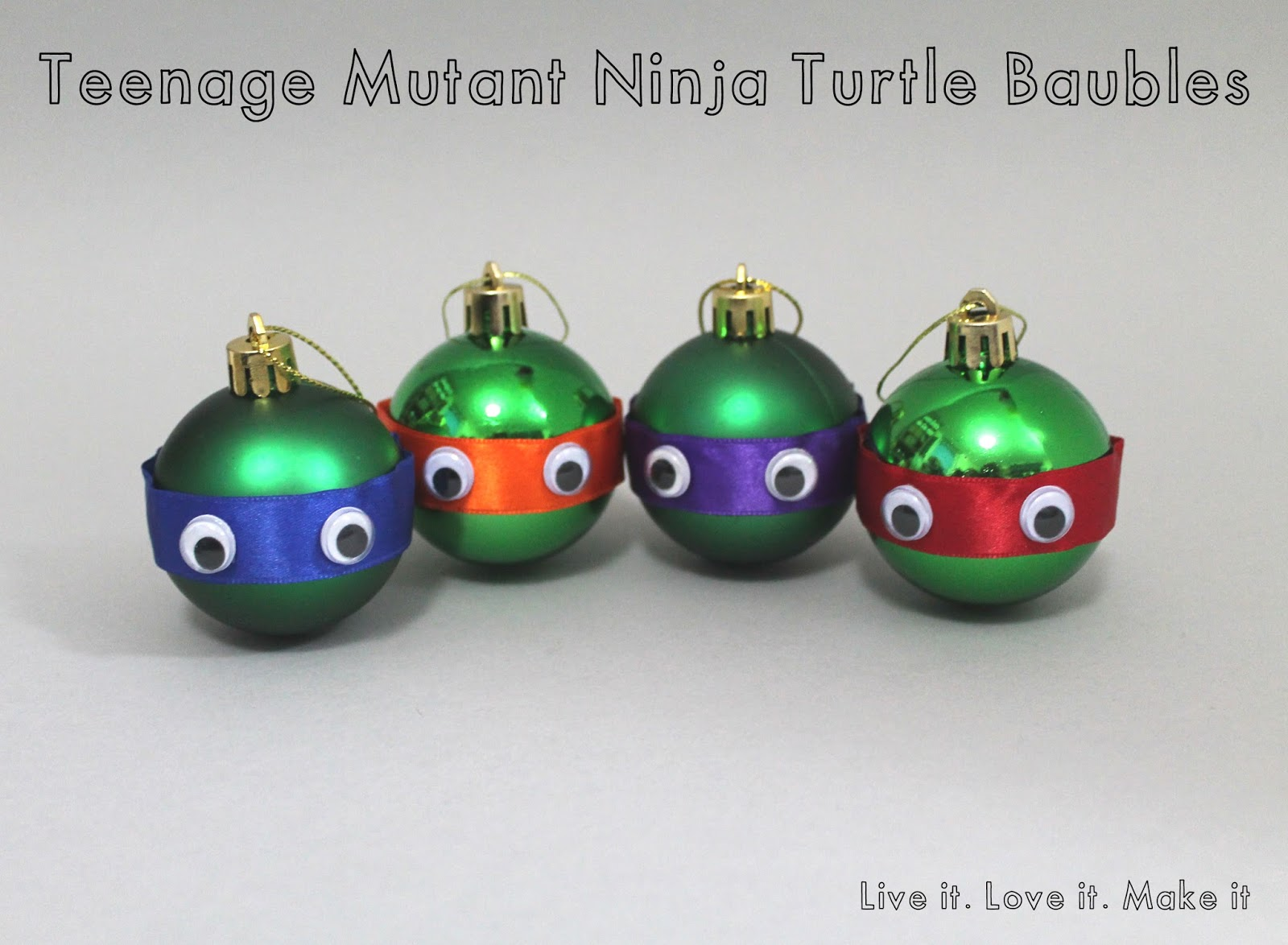 Ninja Turtle Christmas Tree.Live It Love It Make It Make It Teenage Mutant Ninja