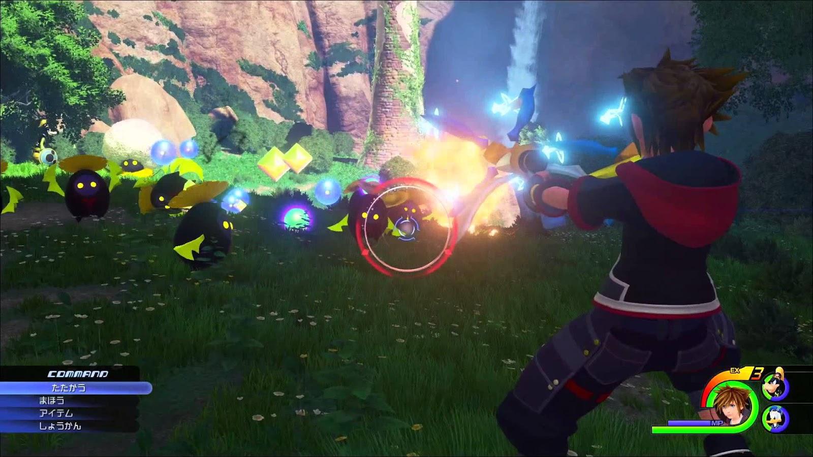 Kingdom Hearts 3 saldría en 2018 y tendría tráiler en el E3