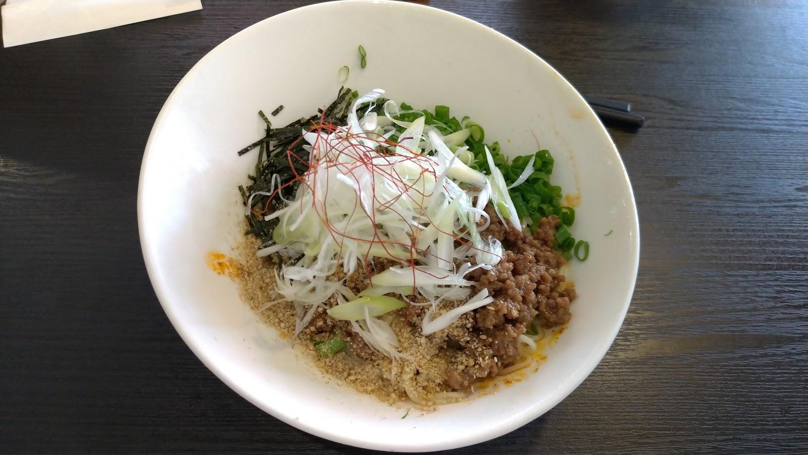 ラーメン居酒屋BABAKE【夏限定】冷製汁なし担々麺