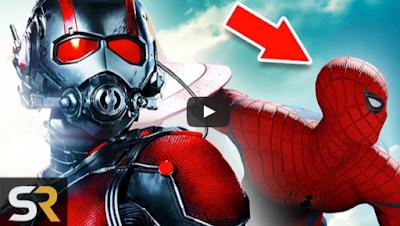 spider-man,ant-man