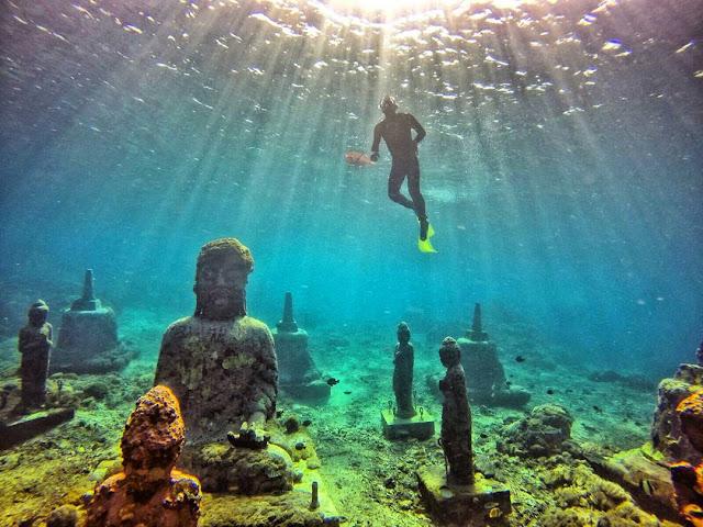 diving dan snorkeling di nusa penida
