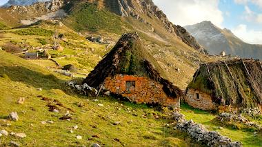 Cabañas de Teito en Asturias