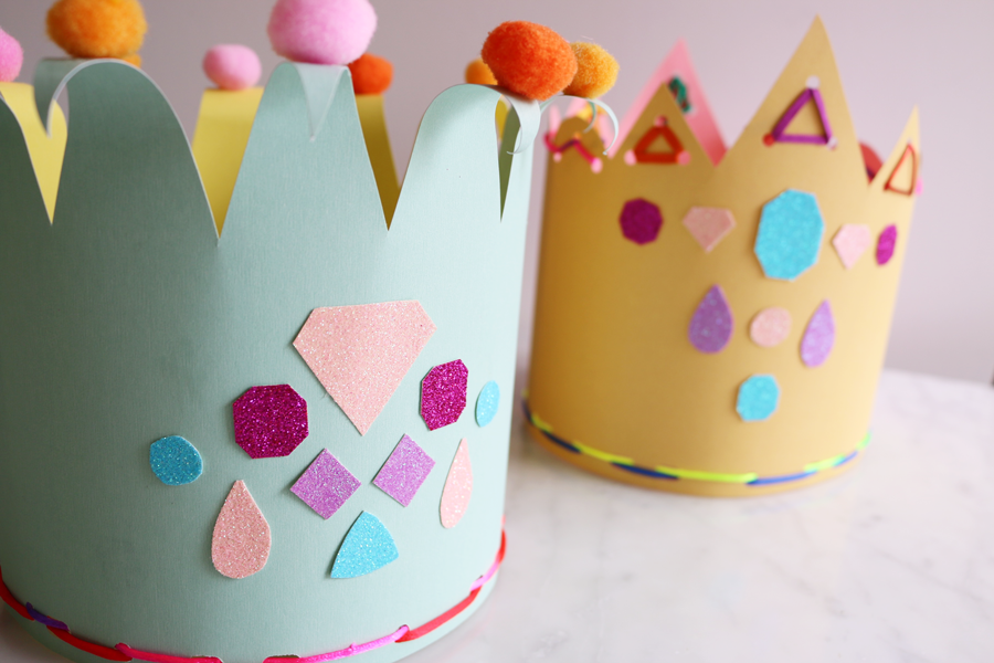 Barkly Square Kids Crown School Holiday Craft Activity The