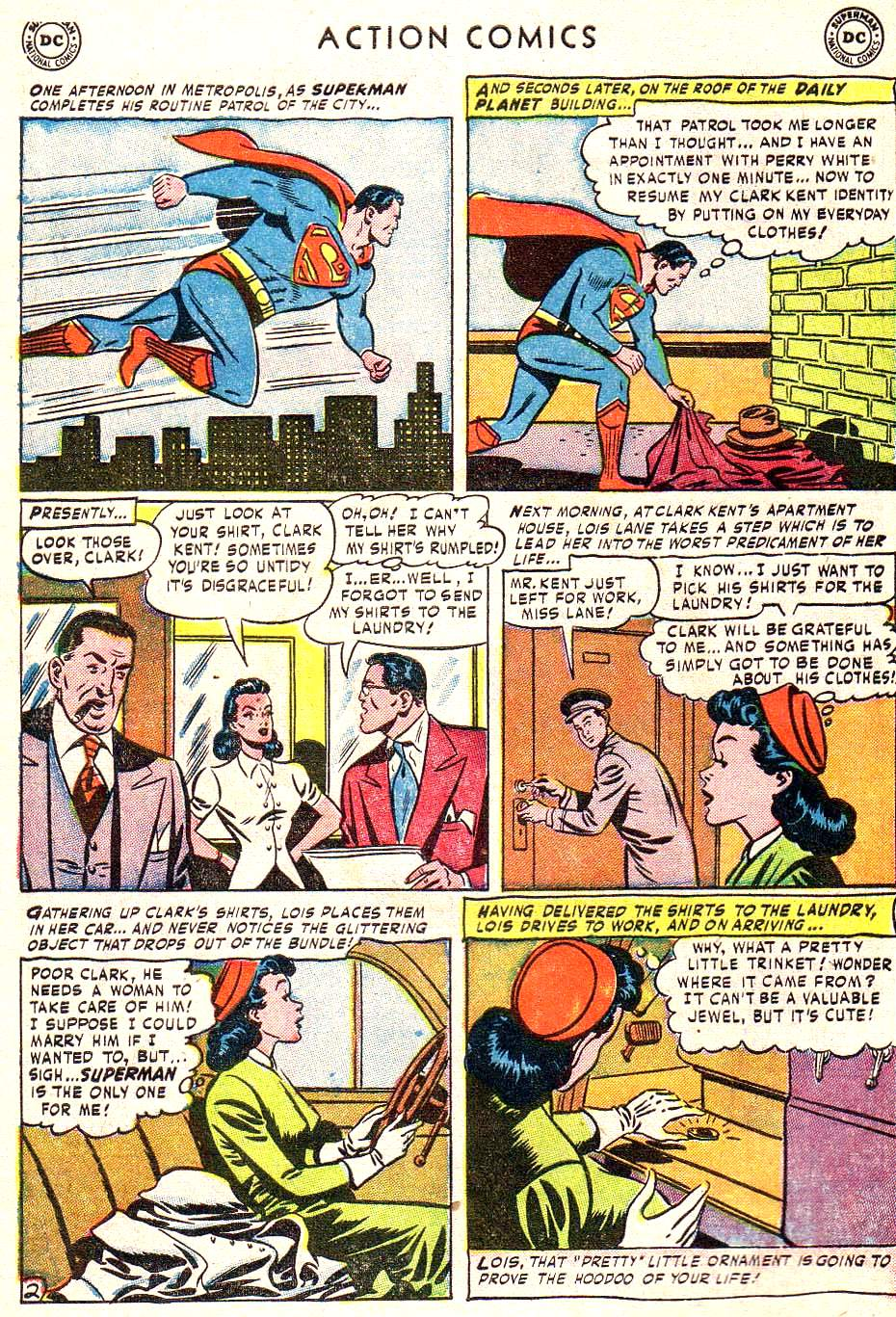 Read online Action Comics (1938) comic -  Issue #172 - 4
