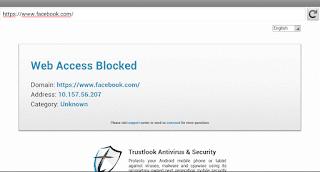 Blokir Situs di Android 4