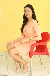 Rukshar Mir in a Peachy Deep Neck Short Dress 032.JPG