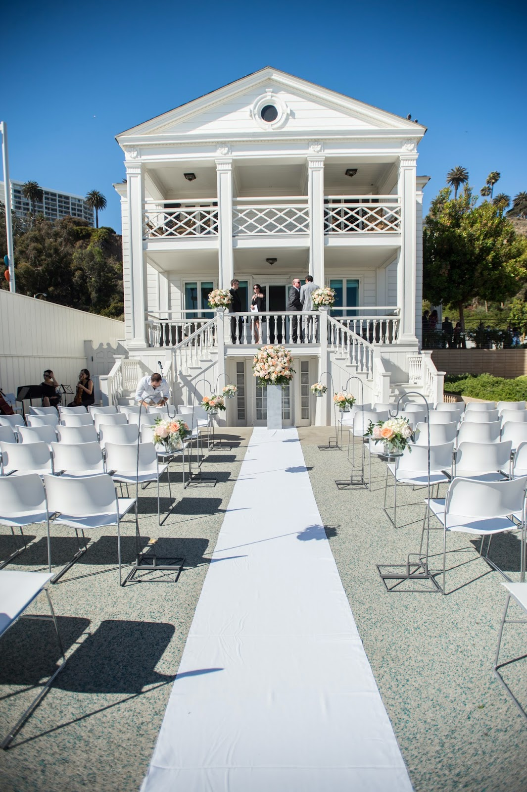 Marion Davies Guest House Wedding Ceremony