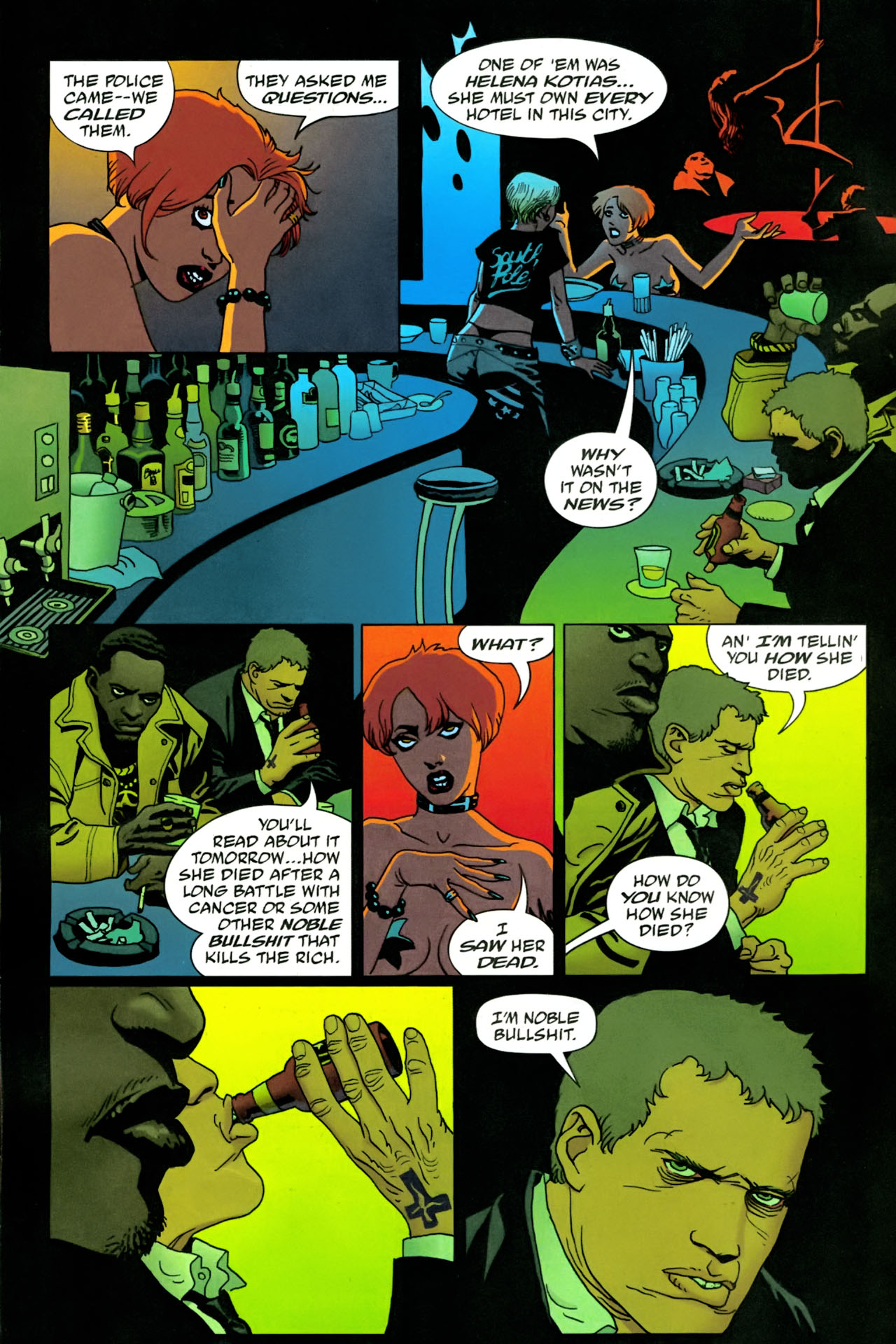 Read online 100 Bullets comic -  Issue #86 - 11