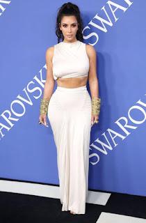 Kim Kardashian fashion award