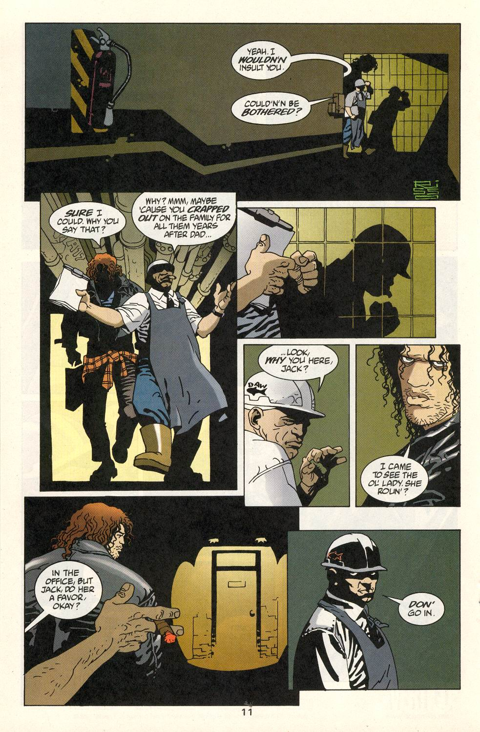 Read online 100 Bullets comic -  Issue #22 - 12