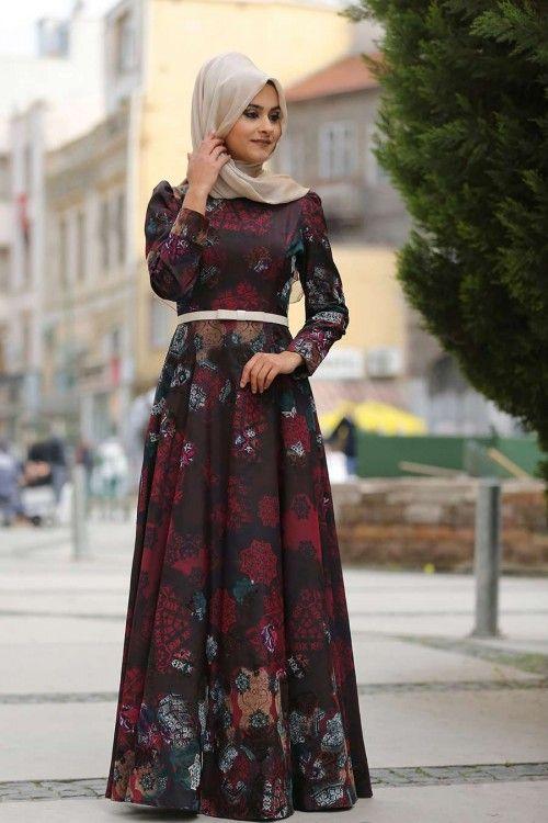 25 Model Baju Gamis Muslimah  Masakini Untuk Pesta dan