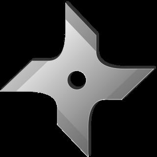 Cara Membuat Shuriken dari Kertas Dengan Mudah