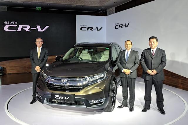 All New 2018 Honda CR-V Launching event