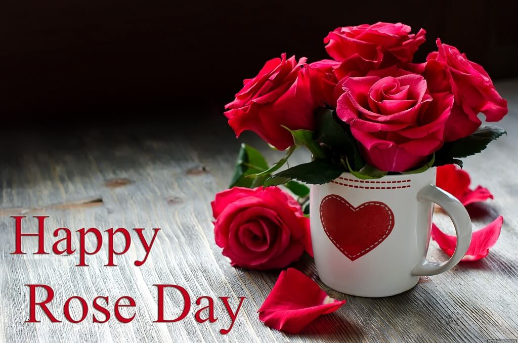 Happy Rose Day HD Wallpaper