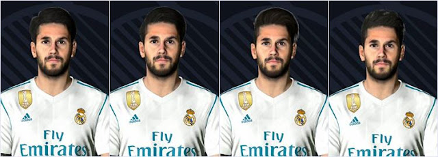 Isco Face Real Madrid PES 2017