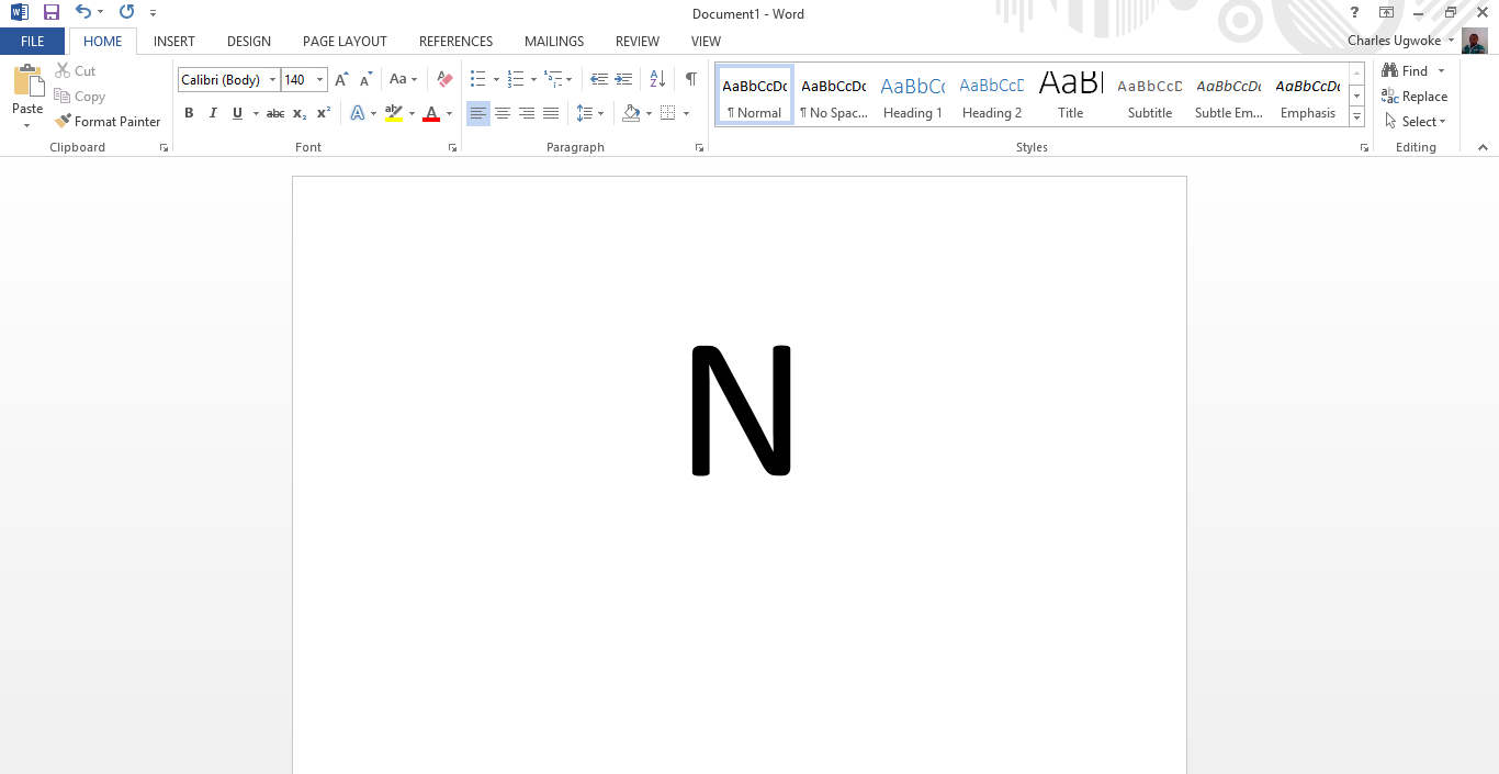 Easiest way to add the naira symbol in a microsoft word add naira symbol in microsoft word biocorpaavc Gallery