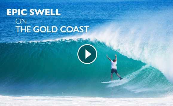 Epic Swell on the Gold Coast - Cyclone Gita 2018 Kirra