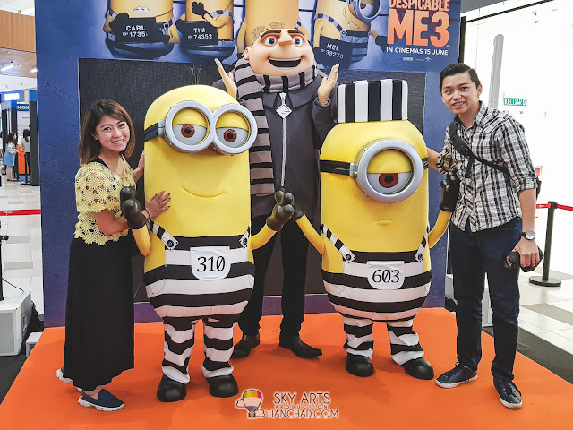 Despicable Me 3 Gru and Minions Meet & Greet at MyTOWN Shopping Mall