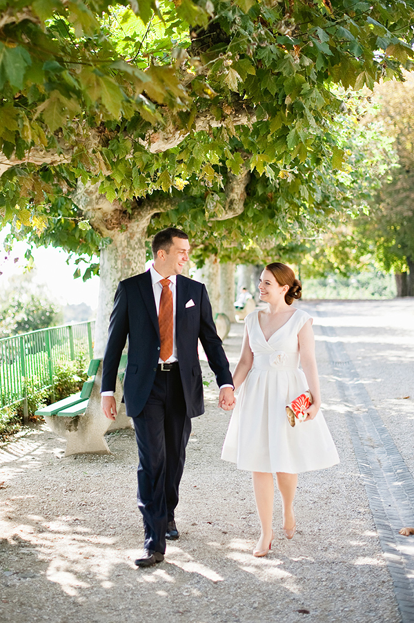 Plan Your Honeymoon in Switzerland | Couple after the wedding