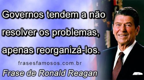 Governos tendem a não resolver os problemas, apenas reorganizá-los