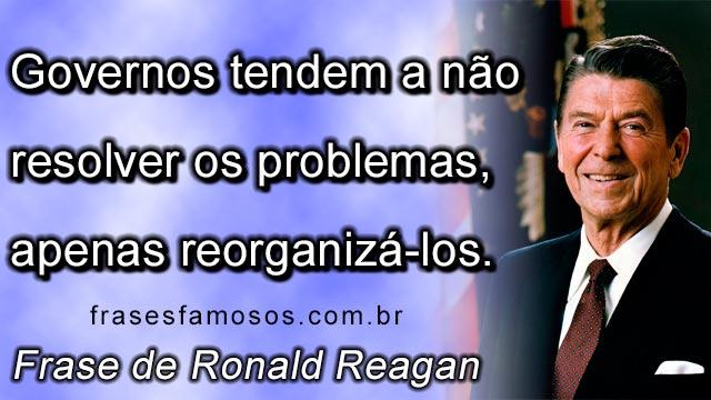 Frase de Ronald Reagan