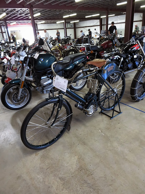 Motorcycle Auction Barber Vintage Festival
