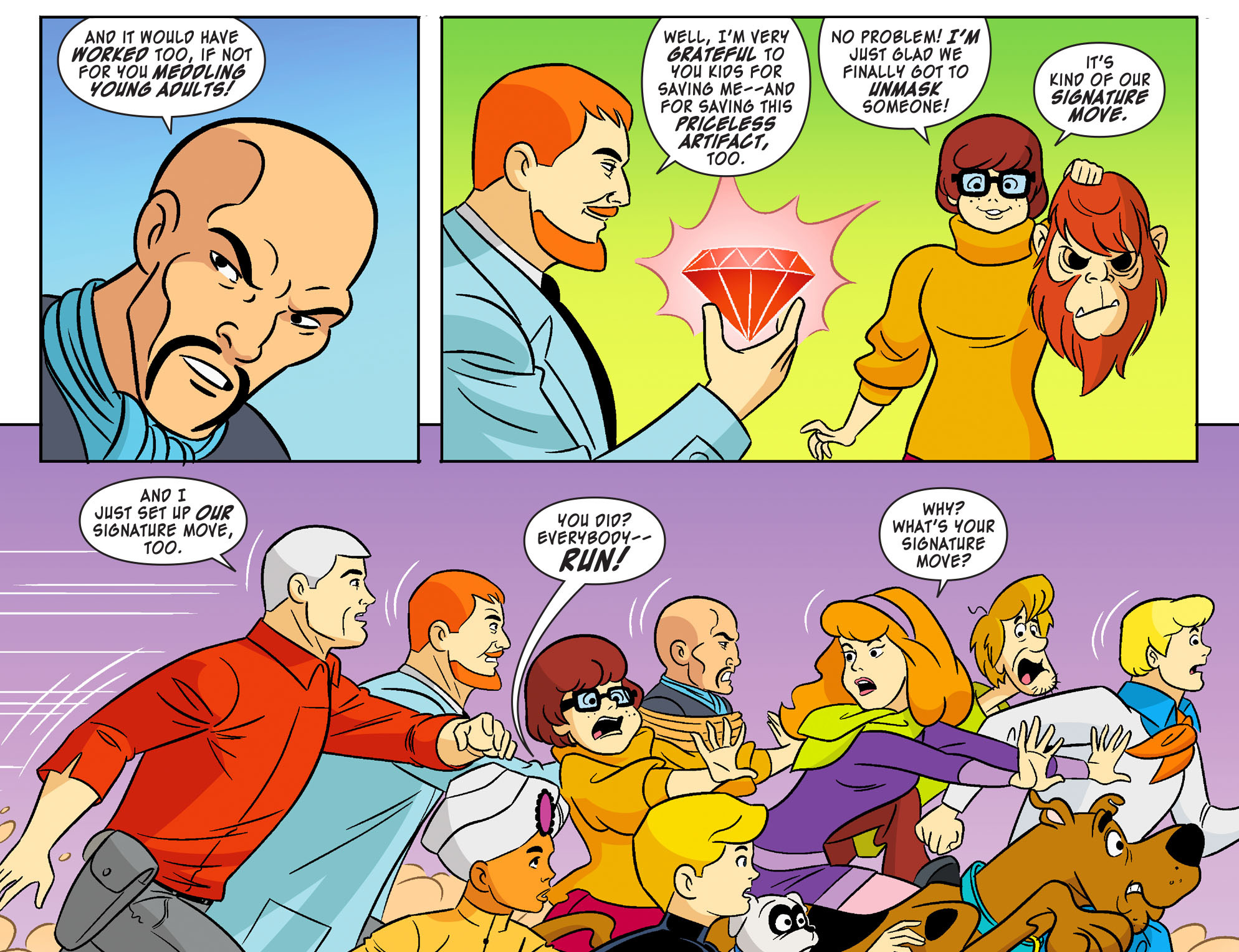 Read online Scooby-Doo! Team-Up comic -  Issue #20 - 21