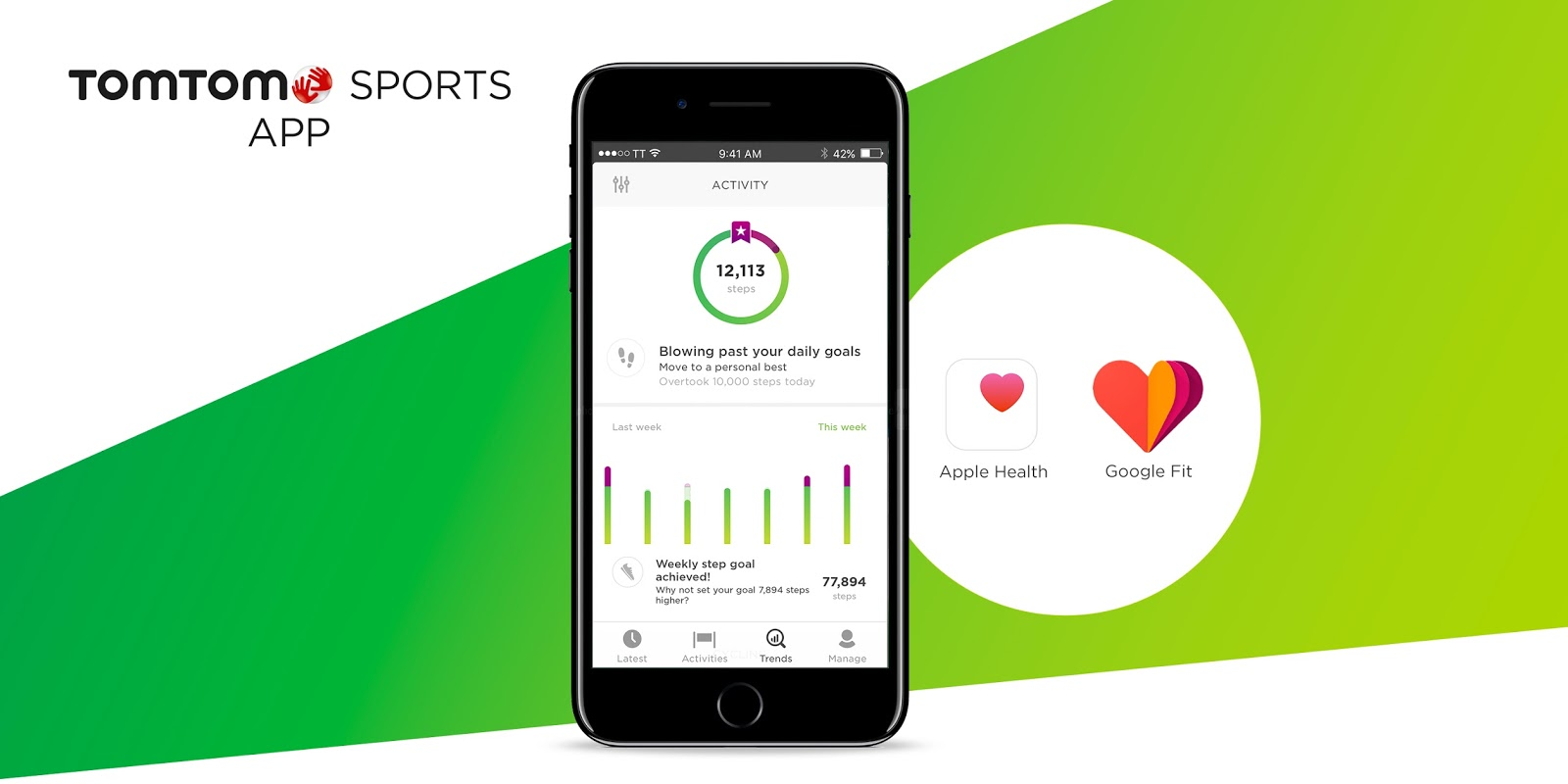 TomTom Sports App Now Works To Bring In Google Fit Data