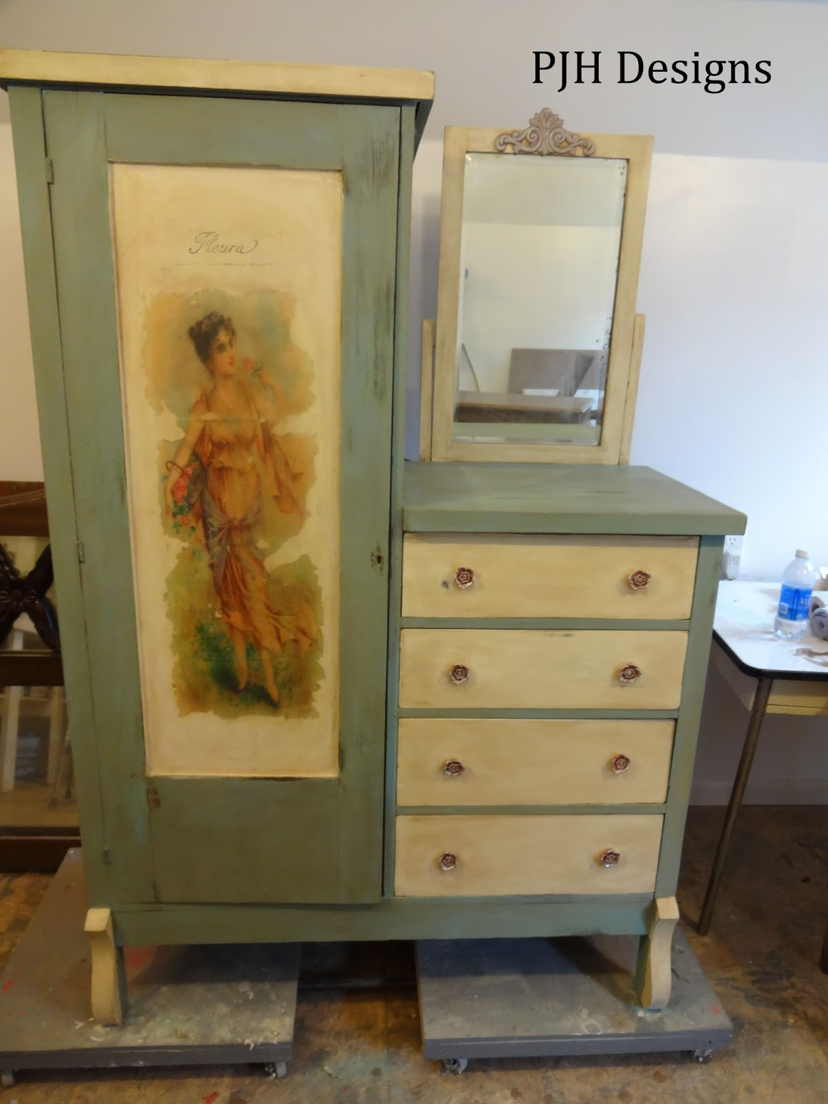 Pjh Designs Hand Painted Antique Furniture My Victorian