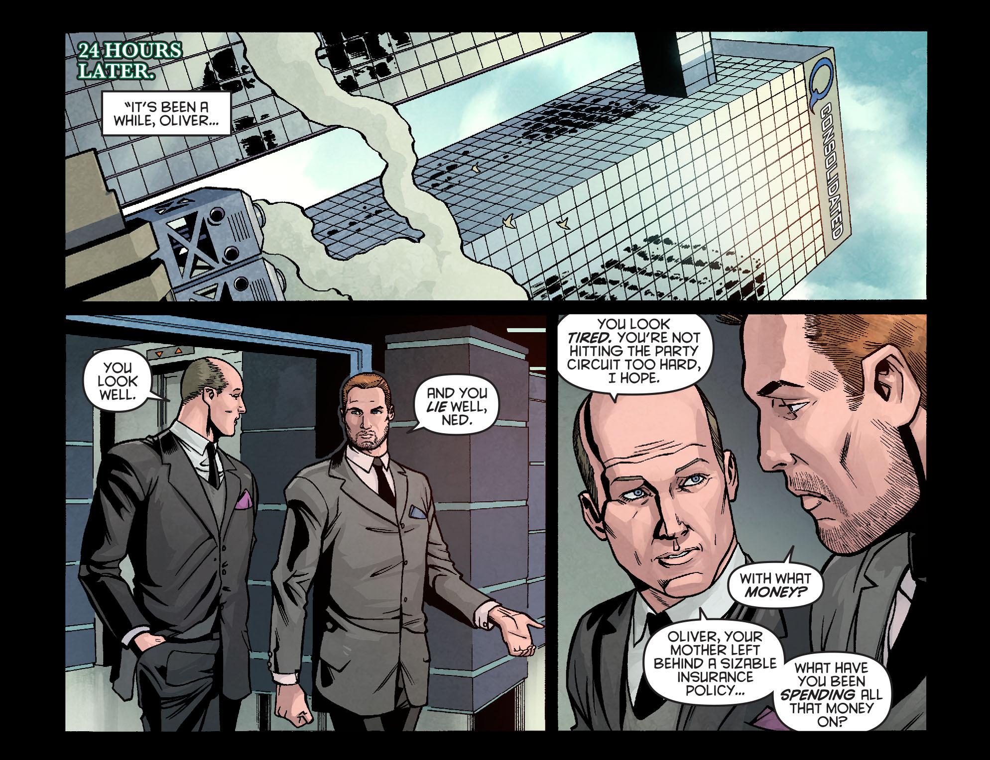 Read online Arrow: Season 2.5 [I] comic -  Issue #10 - 3