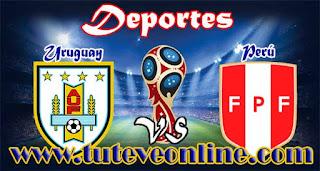 Uruguay vs Perú | Martes 29 de Marzo de 2016 | Eliminatorias Rusia 2018