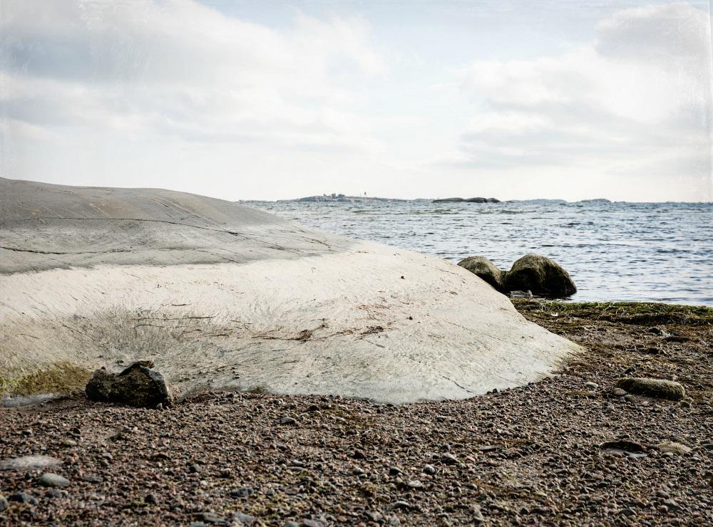 Hanko, valokuvaus, valokuva, suomi, luonto, Frida Steiner, ranta, kallio