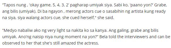 Bela Padilla Revealed Something About Judy Ann Santos! Check This Out!