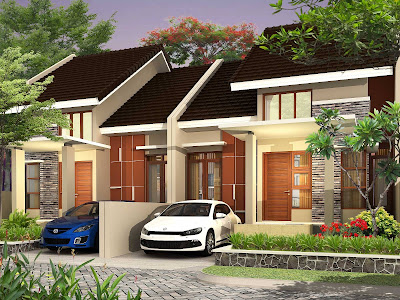 model rumah minimalis terbaru asri di perkotaan