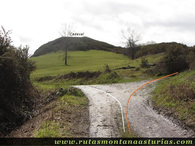 Proximidades de la cima Cadaval