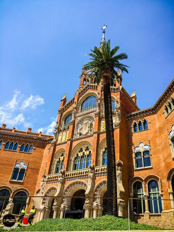 Hospital de la Santa Creu i Sant Pau,Barcelona 15th century building in Barcelona now a museum.