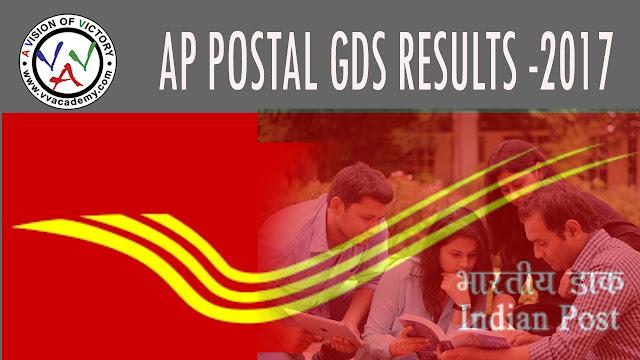 AP POSTAL GDS RESULTS