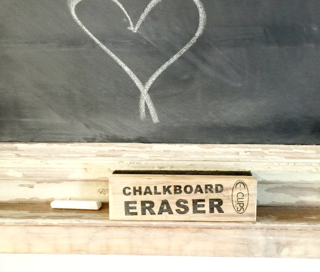 Chippy Frame Chalkboard www.homeroad.net