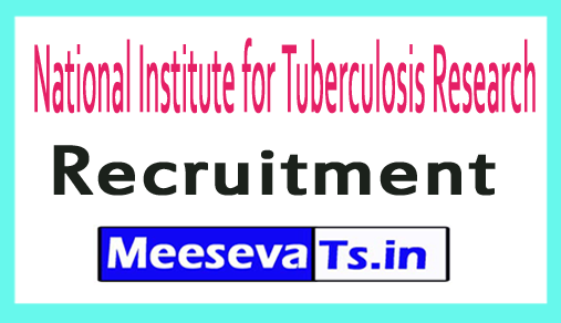 National Institute for Tuberculosis Research NIRT Recruitment