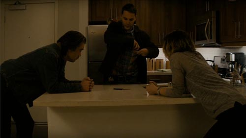 Colin Farrell Taylor Kitsch Rachel McAdams in True Detective