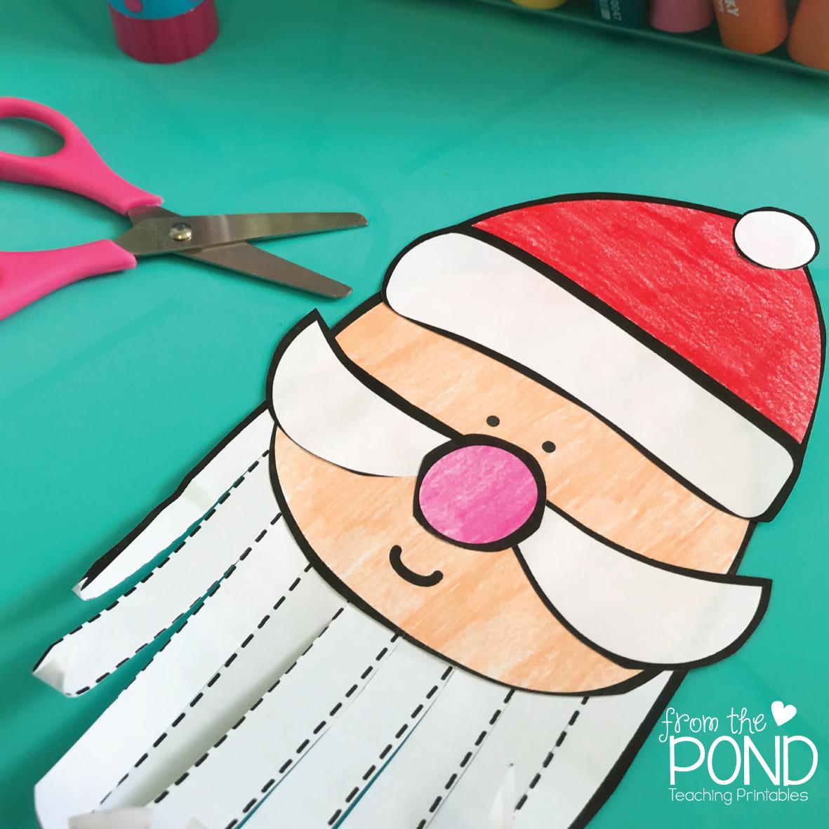 #christmascrafts #forkidstomake #santa