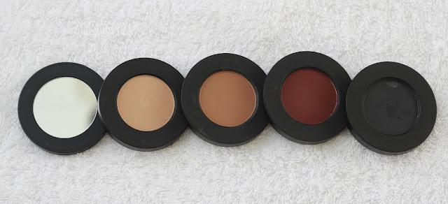 Melt Dark Matter Eyeshadows