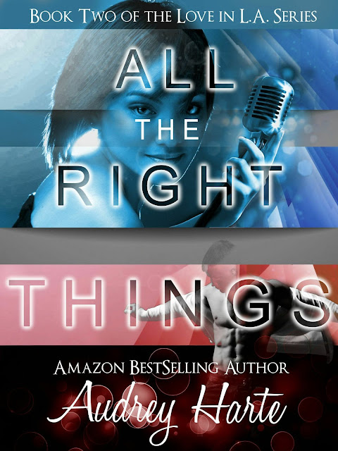 "Cover Reveal - ""All The Right Things"" by Audrey Harte"