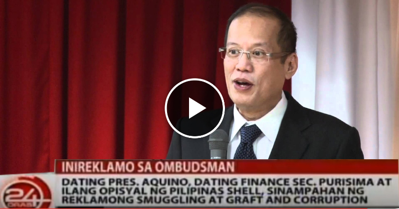 Noynoy Aquino Kinasuhan ng Plunder at Graft