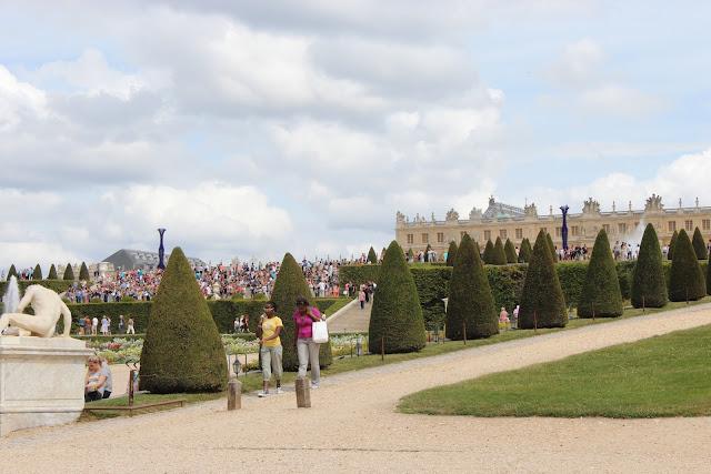 法國巴黎凡爾賽宮花園