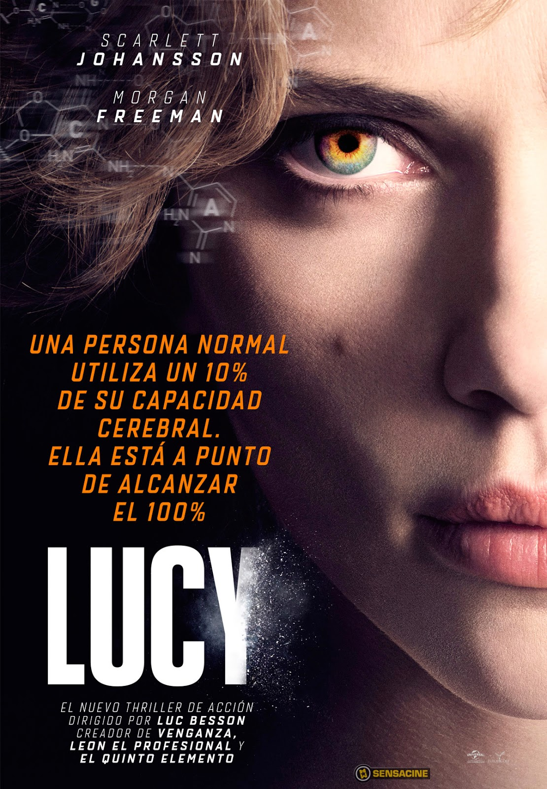 Lucy (2014) Ver gratis online en vivo streaming sin descarga ni torrent