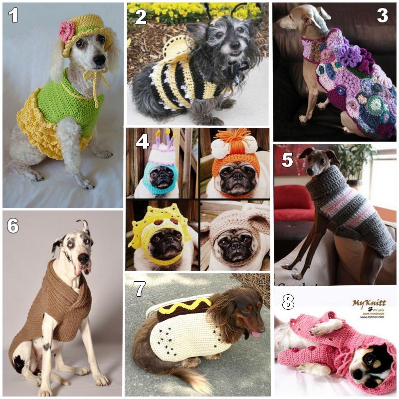 Crochet y tricot para animales